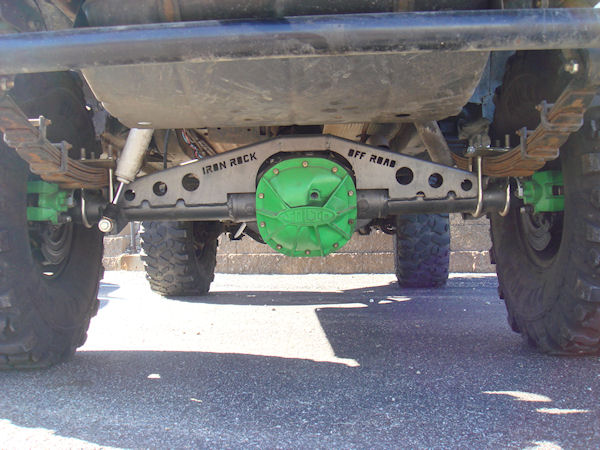 XJ Ford 8 8 Axle Swap Kit (W/ Truss) - Iron Rock Off Road