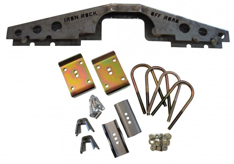 XJ Ford 8 8 Axle Swap Kit (W/ Truss) - Iron Rock Off Road