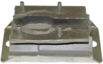 XJ Transmission Mount, OEM Replacement, Steel, Rubber, Black, Jeep, SUV,