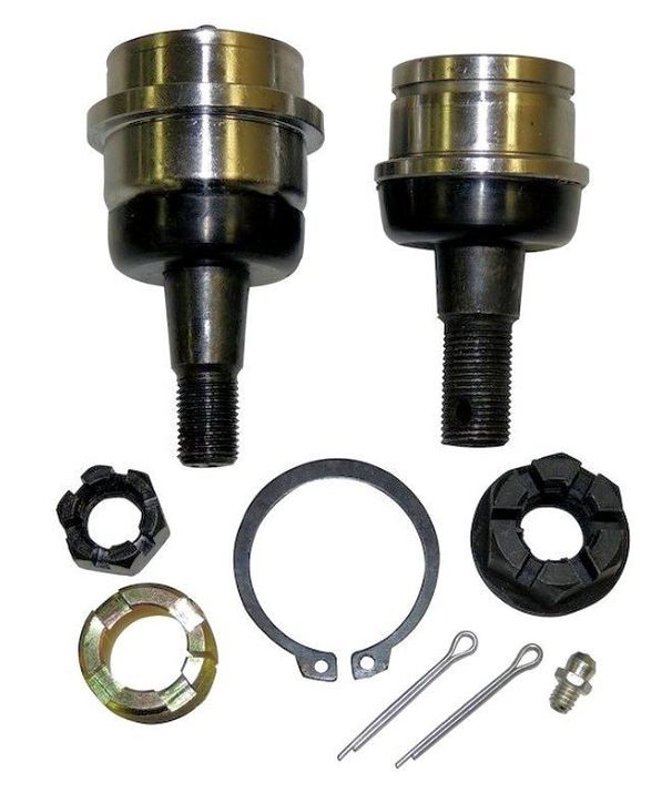 Front Driver or Passenger Side Upper and Lower Heavy Duty Ball Joint Kit - XJ, ZJ,TJ,YJ