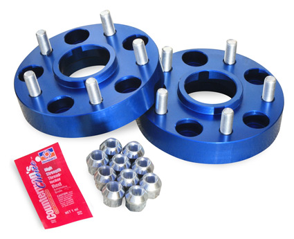 "Jeep 1.25"" Thick Wheel Spacers 5 on 5"""