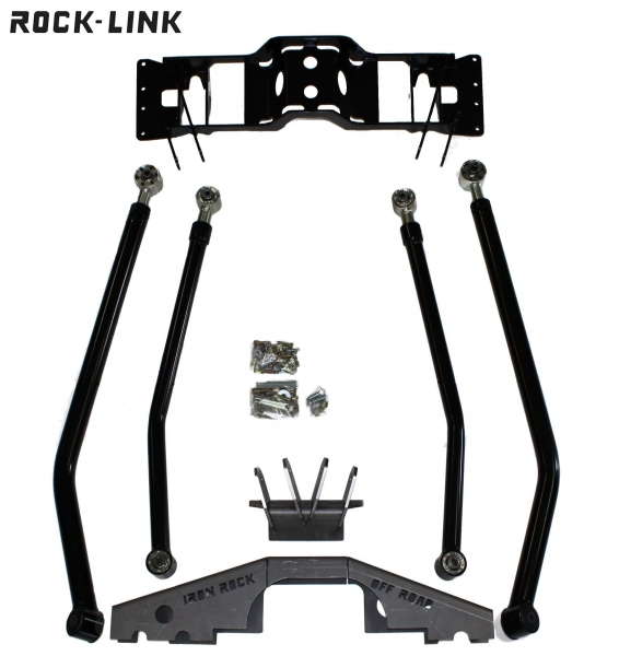 Jeep TJ ZJ Rustys Off-Road Front Axle Coil Spring and Shock Mount Assembly XJ