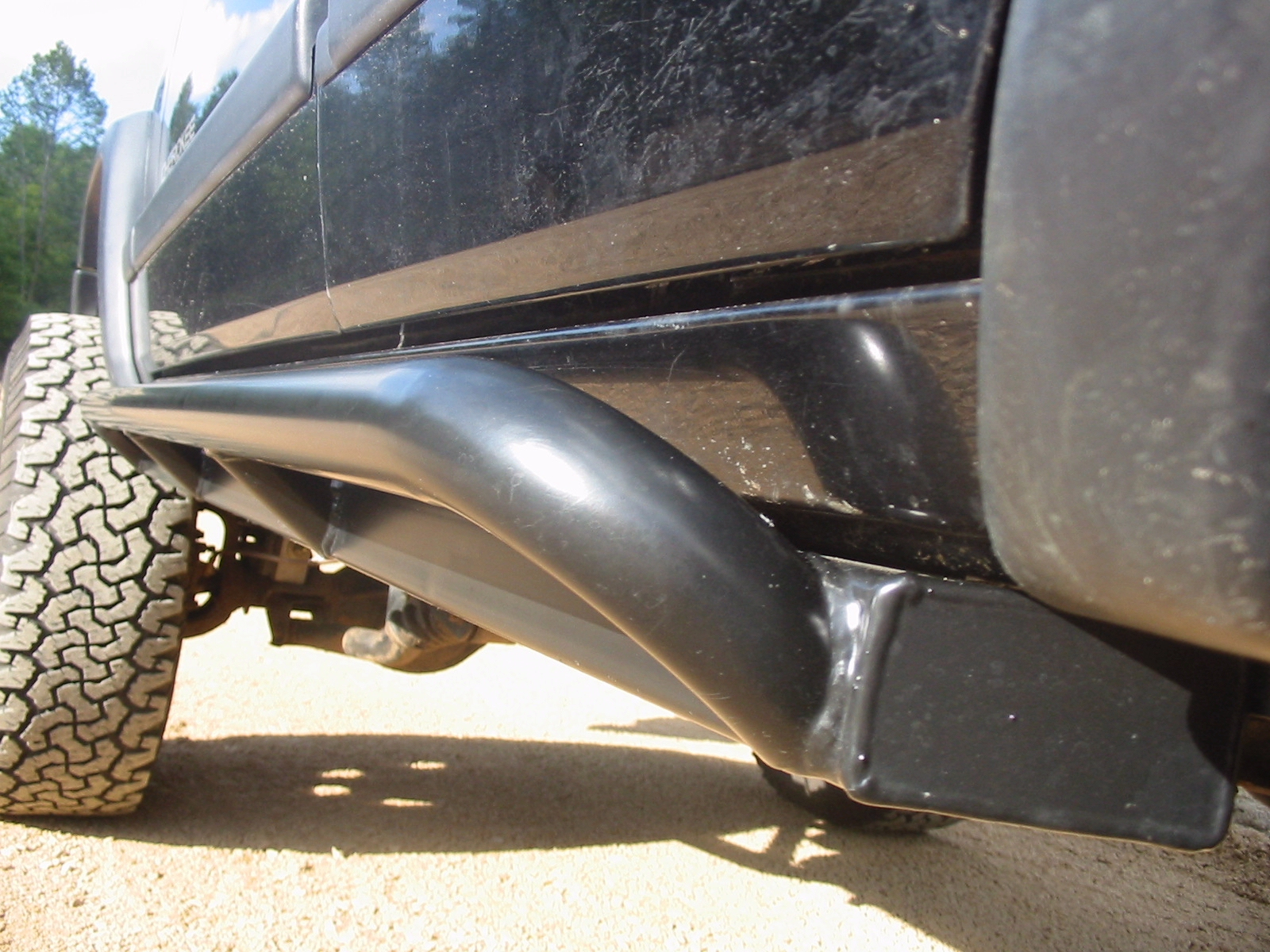 Xj Premium Rock Sliders Iron Rock Off Road